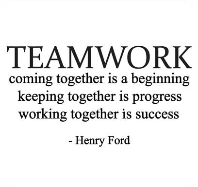 Teamwork Quote by Henry Ford